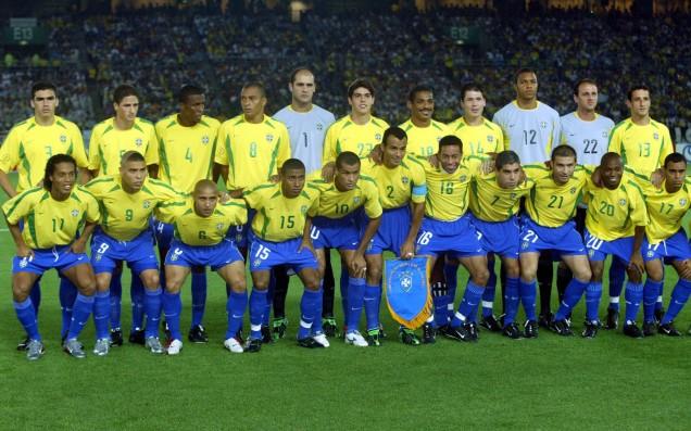 Brasil campeones del mundo 2002