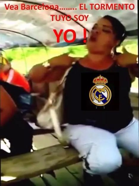 Meme Clasico Barcelona Real Madrid....