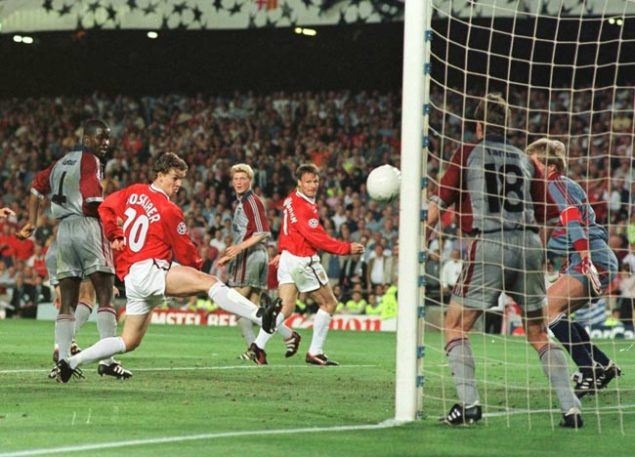 Los dos goles del Manchester al Bayern de Múnich – final de Champions League 1998-1999