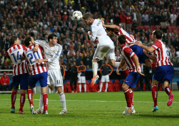 Gol de Real Madrid al Atlético de Madrid final de Champions League 2013-2014