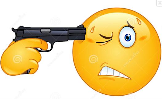 Emoticon - suicidio