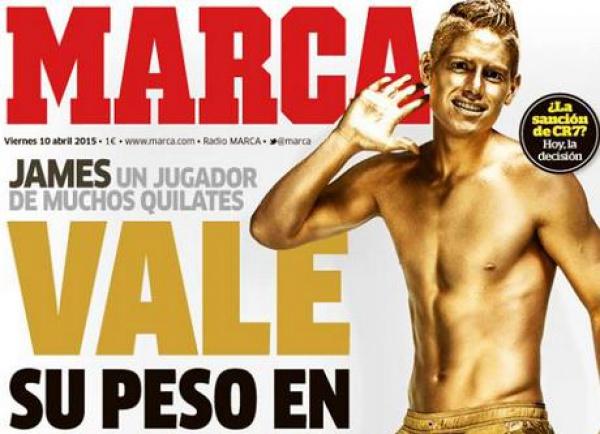 Portada del diario Marca de España